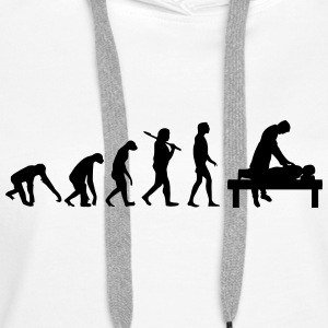EVOLUTION BURNOUT Sweat-shirts - Sweat-shirt à capuche Premium pour femmes