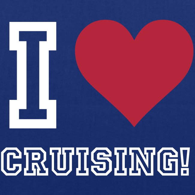 'I Love Cruising' Tote Bag