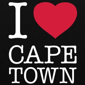 I LOVE CAPE TOWN - Stoffbeutel