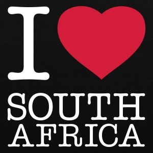 I LOVE SOUTH AFRICA - Stoffbeutel