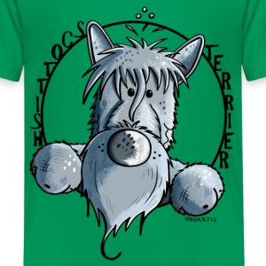 Shiro der Scottish Terrier T-Shirts - Kinder Premium T-Shirt