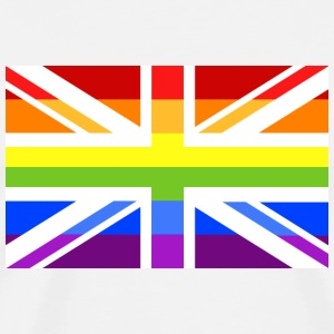 Pride UK No 2 T-Shirts - Men's Premium T-Shirt