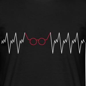 Optician Heartbeat Tee shirts - T-shirt Homme