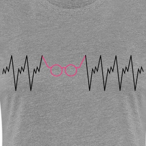 Optician Heartbeat T-Shirts - Women's Premium T-Shirt
