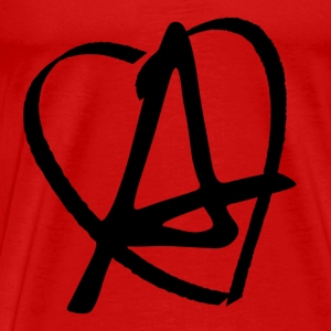 Love Anarchy T-shirts - Herre premium T-shirt