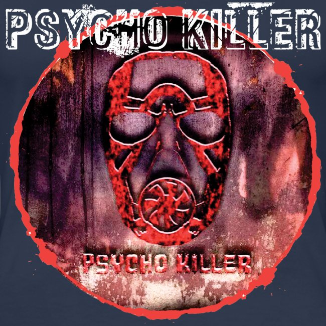 PSYCHO KILLER / T-SHIRT SLIMFIT LADY #3