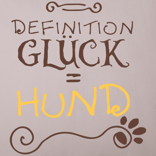 DefinitionGlück = HUND