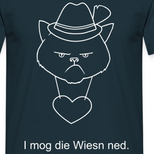 Grumpy bavarian cat T-Shirts - Men's T-Shirt