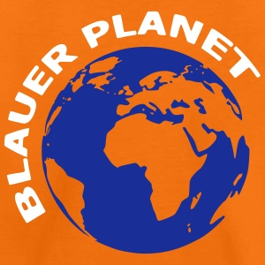 blauer Planet - Kinder Premium T-Shirt