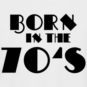 Born in the 70's Tee shirts - T-shirt baseball manches courtes Homme