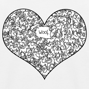 A Heart Full of Woof Shirts - Kids' Baseball T-Shirt