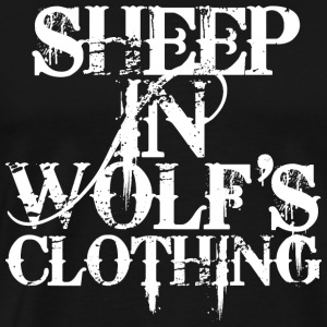 Sheep In Wolf's Clothing - white - Männer Premium T-Shirt
