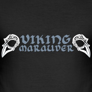 Hugin and Munin T-Shirts - Männer Slim Fit T-Shirt