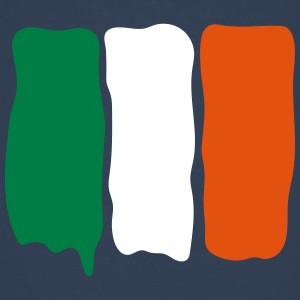 Irish_flag_runny_paint Tee shirts - T-shirt Premium Ado