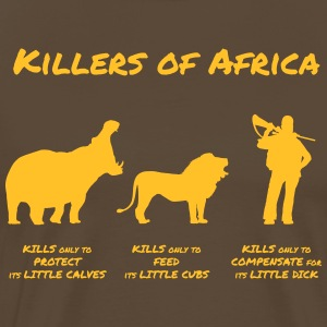 Killers of Africa - Mannen Premium T-shirt