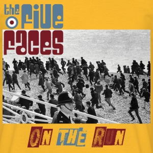 The Five Faces - On The Run album shirt - Maglietta da uomo
