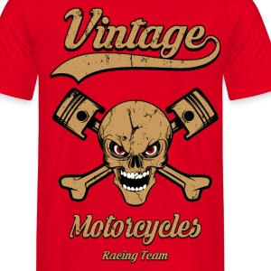 vintage motorcycles team 09 Tee shirts - T-shirt Homme