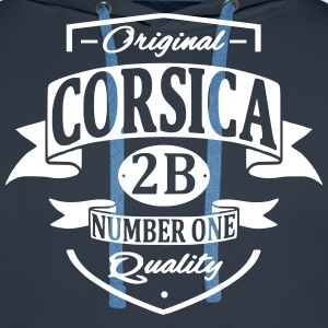 Corsica Sweat-shirts - Sweat-shirt à capuche Premium pour hommes