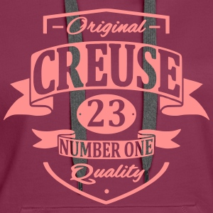 Creuse Sweat-shirts - Sweat-shirt à capuche Premium pour femmes