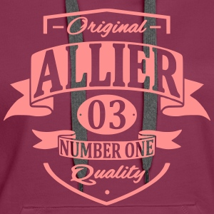 Allier Sweat-shirts - Sweat-shirt à capuche Premium pour femmes