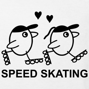 Speed Skating Shirts - Kids' Organic T-shirt