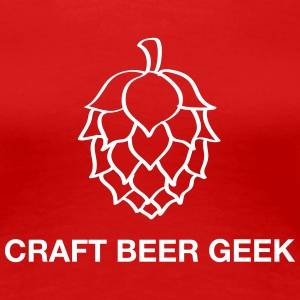 Craft beer geek T-shirts - Premium-T-shirt dam