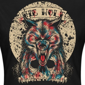 She Wolf T-Shirts - Frauen T-Shirt