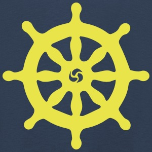 SHIP STEERING WHEEL Long Sleeve Shirts - Kids' Premium Longsleeve Shirt