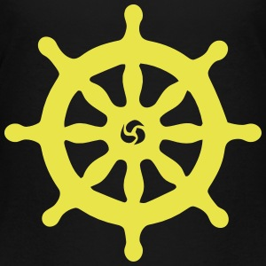 SHIP STEERING WHEEL T-shirts - Premium-T-shirt tonåring