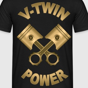 v-twin power 15 Tee shirts - T-shirt Homme