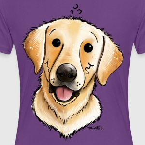 Happy Labrador Retriever T-Shirts - Women's Premium T-Shirt