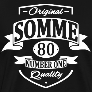 Somme Tee shirts - T-shirt Premium Homme