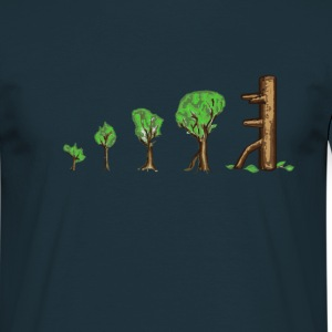 Tree Evolution - Männer T-Shirt