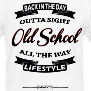 back in the day T-Shirts - Men's Ringer Shirt