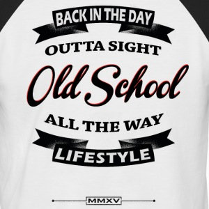 back in the day T-Shirts - Men's Baseball T-Shirt