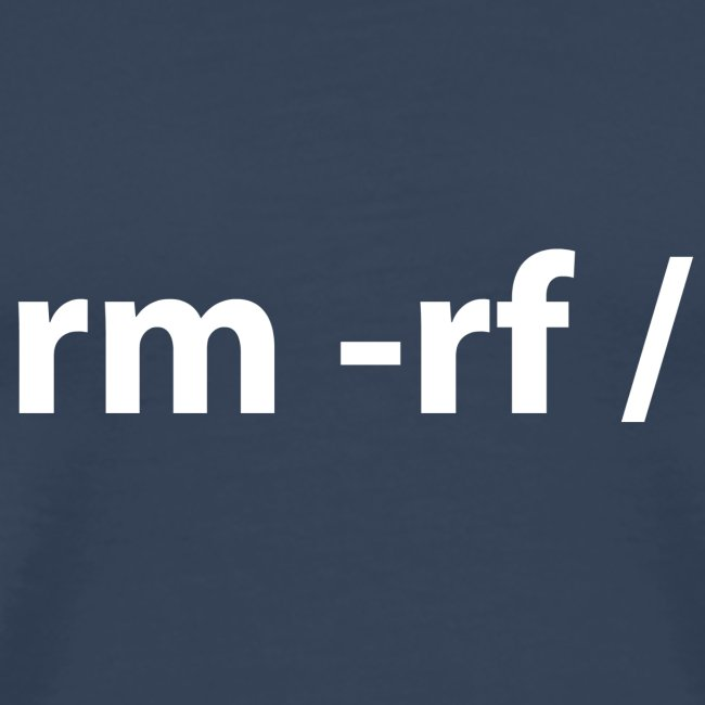 Linux - rm -rf root (multicolor)