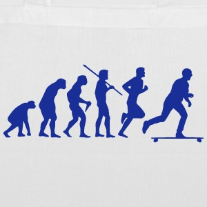 SKATEBOARD EVOLUTION Sacs et sacs à dos - Tote Bag
