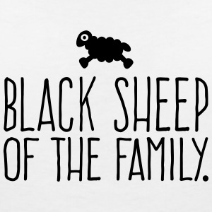 Black Sheep of the Family - Sheep T-Shirts - Frauen T-Shirt mit V-Ausschnitt