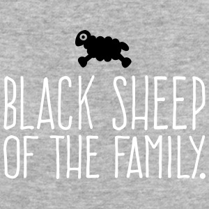 Black Sheep of the Family - Sheep 2C T-Shirts - Frauen Bio-T-Shirt