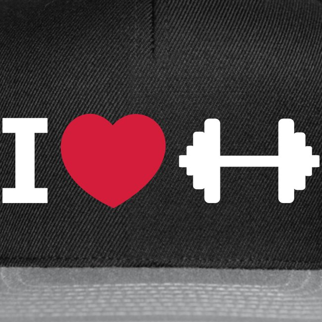 I love Fitness – Bodybuilding – Training – Basecap (dh)