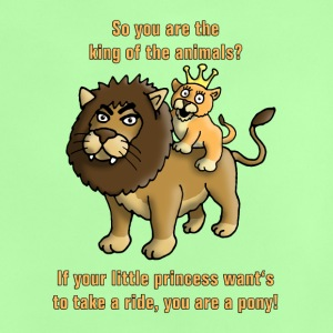 king_of_the_animals_and_his_princess_c T-Shirts - Baby T-Shirt