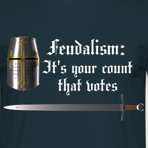 Feudalism Men's T (light text) - Men's T-Shirt