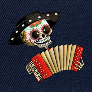 The Day of The Dead Skeleton El Mariachi Caps & Hats - Snapback Cap