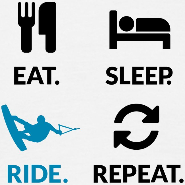 Eat Sleep Wake Repeat