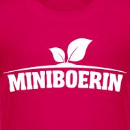 Ontwerp ~ Miniboerin kleuter