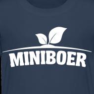 Ontwerp ~ Miniboer kleuter