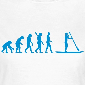 Evolution Stand up paddling T-Shirts - Frauen T-Shirt