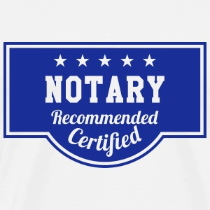 Notary / Notaries / Lawyer / Notaire / Law / Legal T-Shirts - Men's Premium T-Shirt