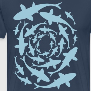 Fish Circle T-Shirts - Men's Premium T-Shirt