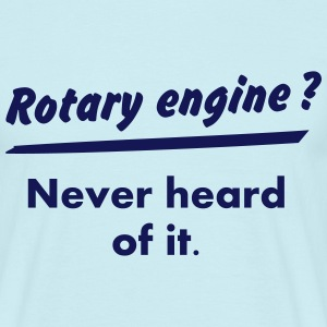 Rotary Engine ? What's this ? Camisetas - Camiseta hombre